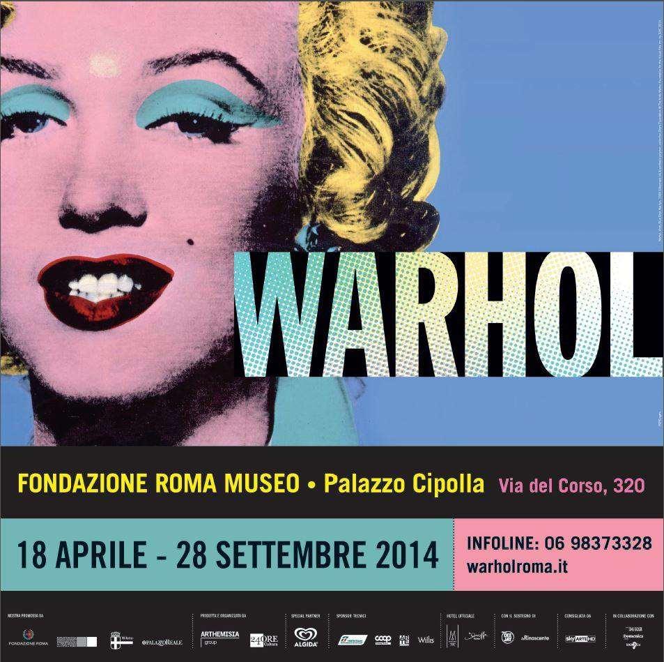 Mostra-Andy-Warhol-Fondazione-Roma-Museo-Palazzo-Cipolla-via-del-Corso-320-18-aprile-28-settembre-2014